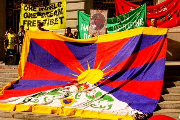 Tibetan Flag Pictures And History Of The National Flag Of Tibet