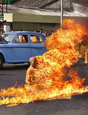 Self-Immolation of Buddhist Monk