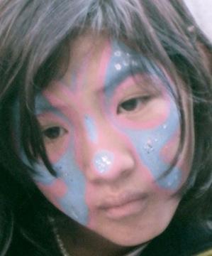 Tibetan Baby Girls Tattoos Pictures