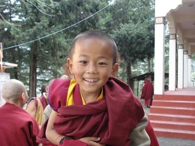 Baby Tibetan Monk!
