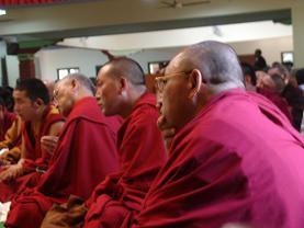 Strong Spirit of Tibetan Buddhist Monks