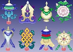Tibetan Symbols Pictures